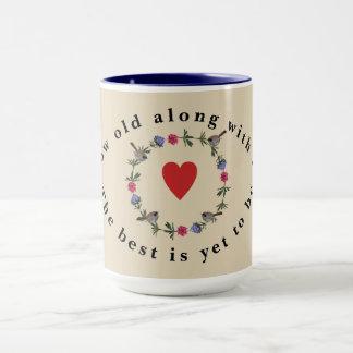Brobert Browning Love Poem Mug