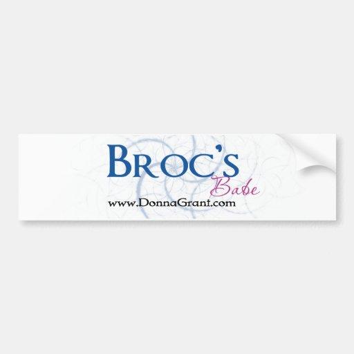 Broc Bumper Sticker