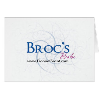 Broc Greeting Card