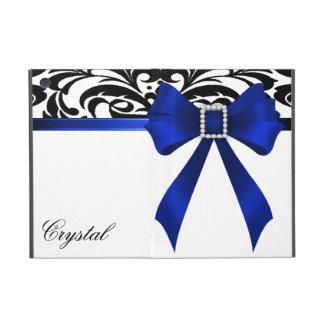 Brocade Blue Bow Damask Ipad Mini Case