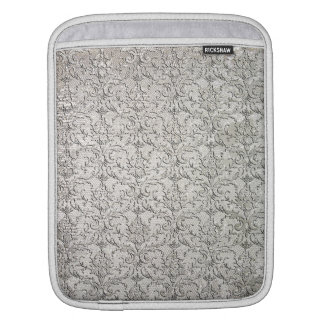 Brocade Damask Print Sleeve For iPads