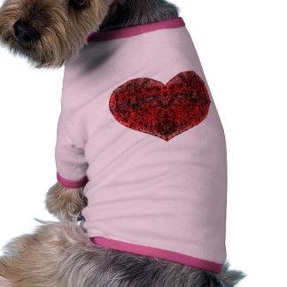 Brocade Heart Pet Tee