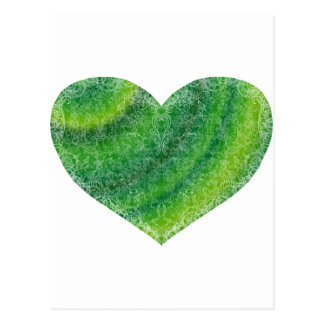 Brocade Heart Postcard