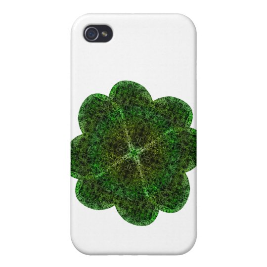 Brocade Shammrock Cover For iPhone 4