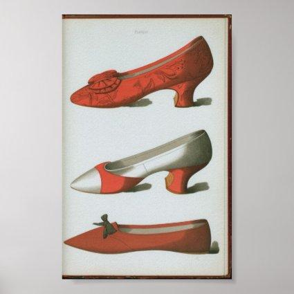 Brocade shoe posters
