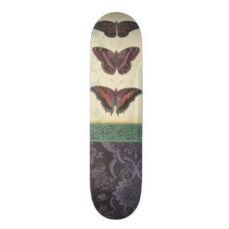 Brocado decorativo de la mariposa por el estudio tablas de patinar