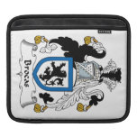 Brocas Family Crest Sleeve For iPads