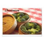 Broccoli 5x7 Paper Invitation Card