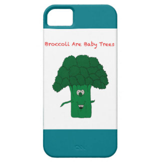 Broccoli are baby trees iPhone SE/5/5s case