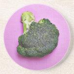 Broccoli Beverage Coaster