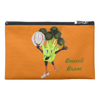 """'Broccoli Bruno' 9""""x6"""" Pencil Case. Travel Accessory Bag"""