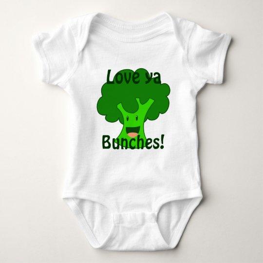 Broccoli Bunch Baby Bodysuit