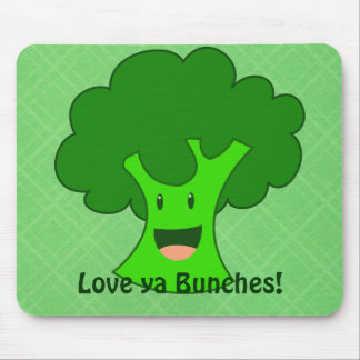 Broccoli Bunch Mouse Pad