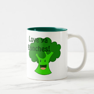 Broccoli Bunch Coffee Mugs