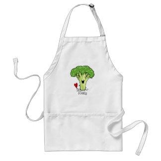 Broccoli Cartoon apron