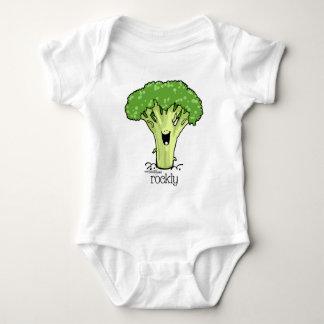 Broccoli Cartoon - Veggie Baby Bodysuit
