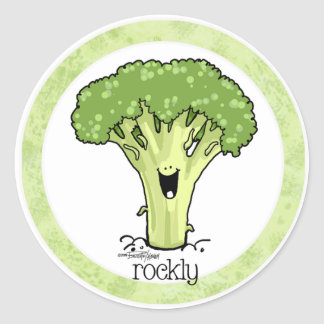 Broccoli Cartoon Veggie sticker