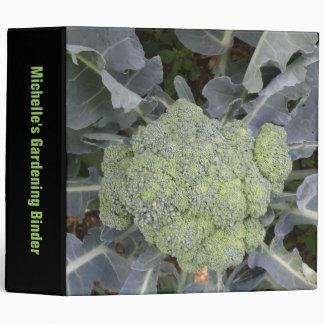 Broccoli Custom Gardening Binder