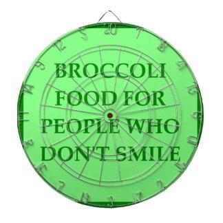 BROCCOLI DARTBOARD