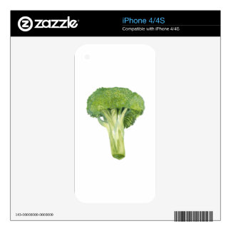 broccoli decal for iPhone 4