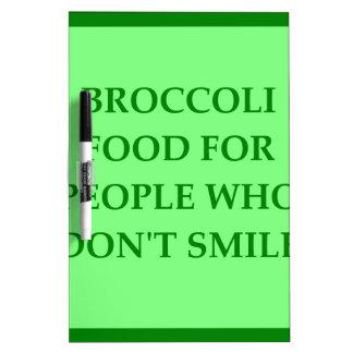 BROCCOLI Dry-Erase BOARD