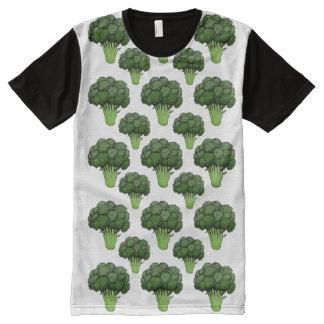 Broccoli Everywhere All-Over-Print Shirt