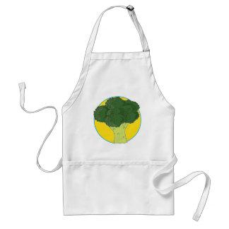Broccoli Graphic Adult Apron