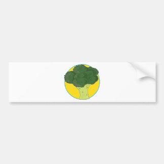 Broccoli Graphic Car Bumper Sticker