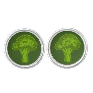 Broccoli Graphic Cufflinks
