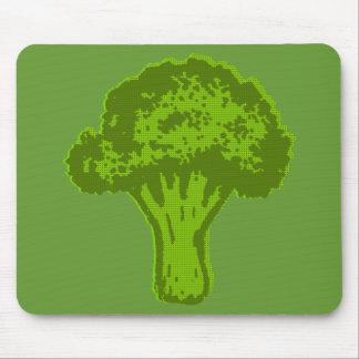 Broccoli Graphic Mouse Pad