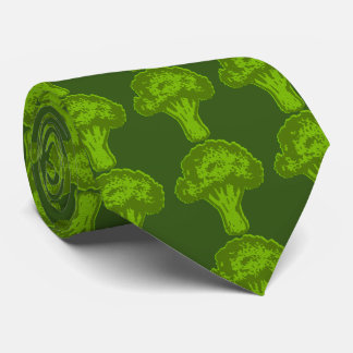 Broccoli Graphic Neck Tie