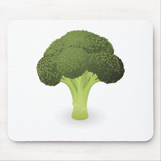 Broccoli illustration mousemat