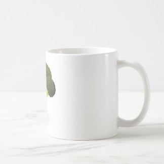 Broccoli illustration coffee mugs
