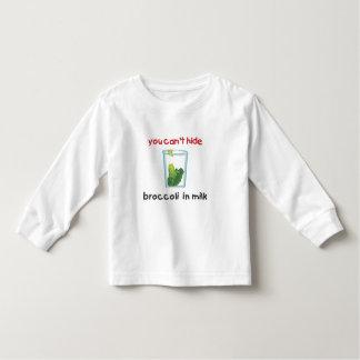 Broccoli in milk toddler t-shirt