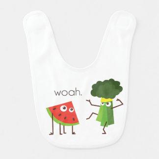 Broccoli Kid Bib