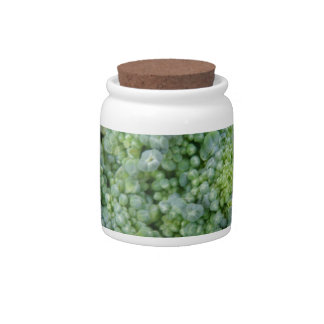 Broccoli Macro Candy Jar
