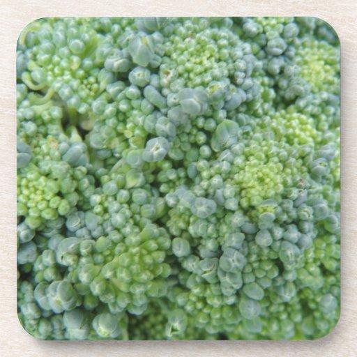 Broccoli Macro Cork Coaster