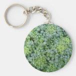 Broccoli Macro Keychain
