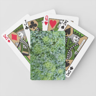 Broccoli Macro Playing Cards