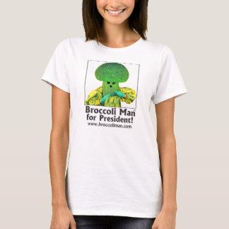 Broccoli Man for President T-Shirt