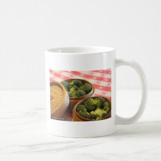Broccoli Classic White Coffee Mug