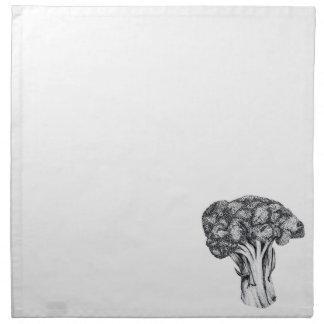 broccoli napkins