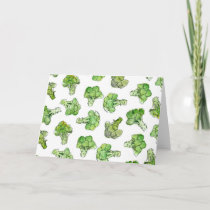 broccoli - scattered card