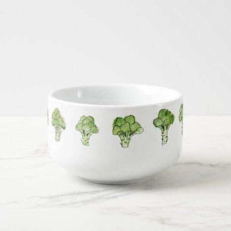 Broccoli Soup Mug