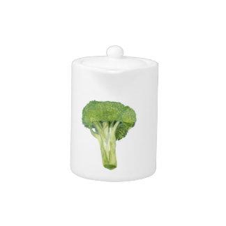 broccoli teapot