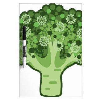 Broccoli Vector Icon Dry Erase Board