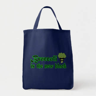 Broccoli - Vegan Vegetarian Grocery Tote