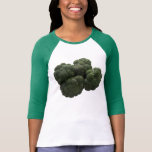 Broccoli Women's Bella 3/4 Sleeve Raglan T-Shirt