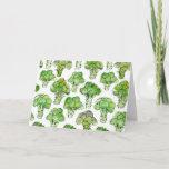 Broccolli - formal card