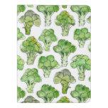 Broccolli - formal extra large moleskine notebook
